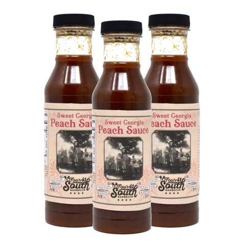 Sweet Georgia Peach Sauce