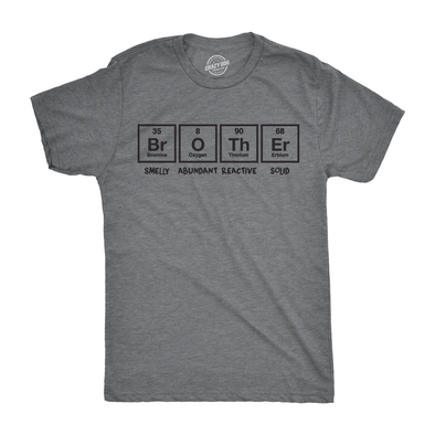 Brother Periodic Table Men's Tshirt