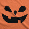 Womens Teardrop Eyes Pumpkin Face Funny Fall Halloween Spooky T shirt