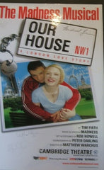 Our House (White) - Signed Poster