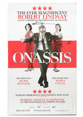 Onassis - Signed Theatrical Poster