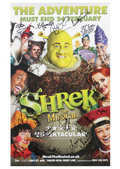 Shrek the Musical - Signed Theatrical Poster