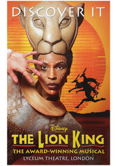The Lion King (poster1 Discover It) theatrical poster