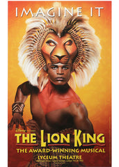 The Lion King (poster3 Imagine It) theatrical poster