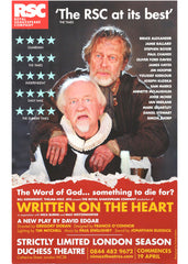 Written on The Heart - theatrical poster