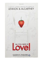 All You Need Is Love (Strawberry) - Signed Poster