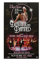 Beautiful & Damned - Signed Poster