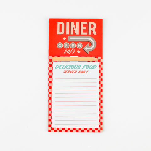 1 American diner notepad