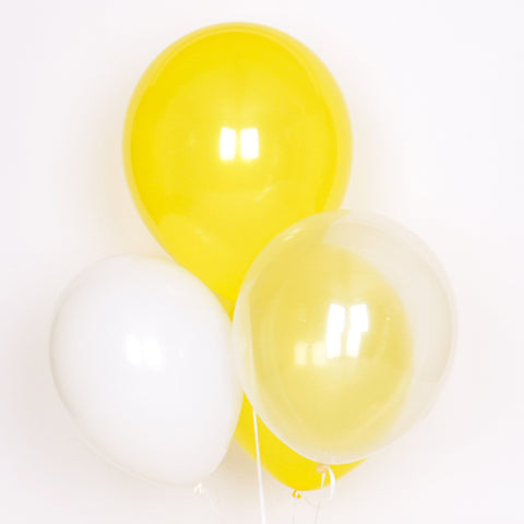Assorted balloons - Yellow