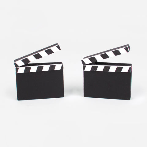 2 Place Card Holder - clapperboard