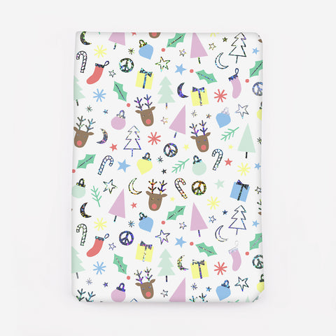 1 roll of wrapping paper - Funky Christmas