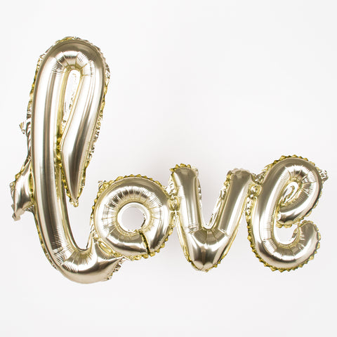 Champagne Love Balloon
