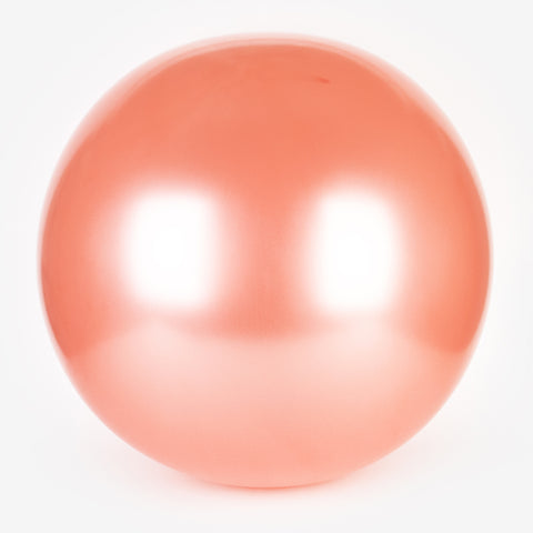 1 pearl giant balloon - Rose gold