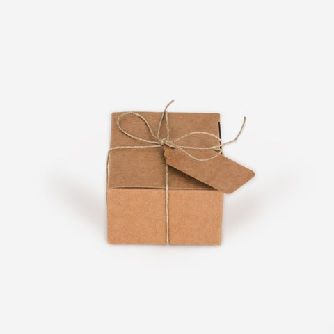 Set of 10 gift boxes - Kraft