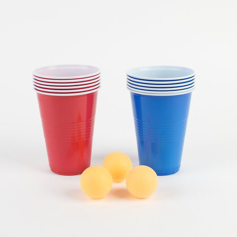 1 drinking game - Beer pong