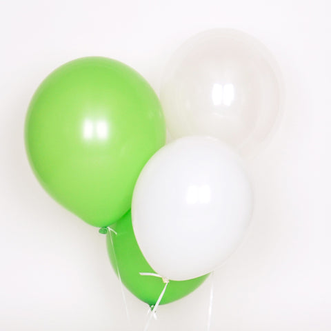 Assorted balloons - Green