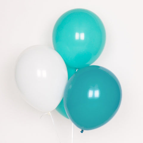 Assorted balloons - Teal