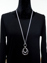 Berlin - Long Faux Leather Necklace