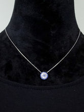 London - Short Chain Necklace - Blue