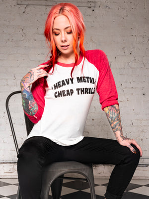 Heavy Metal Raglan
