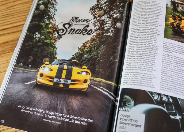 Supercar Driver Issue 28 // Summer 2018