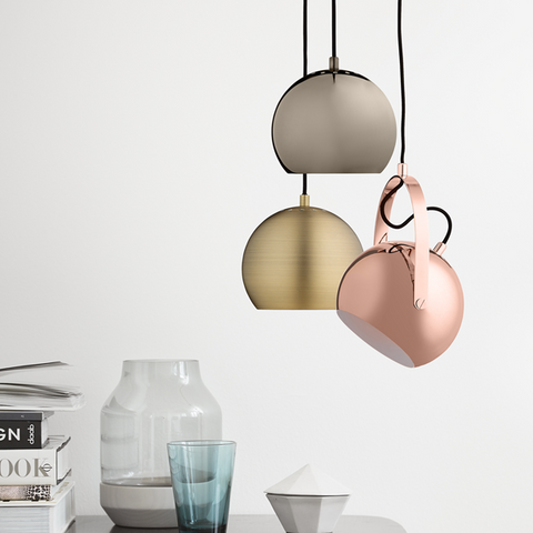 Ball Handle Pendant | Kupfer