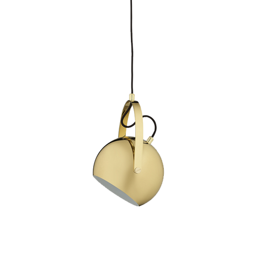 Ball Handle Pendant | Messing