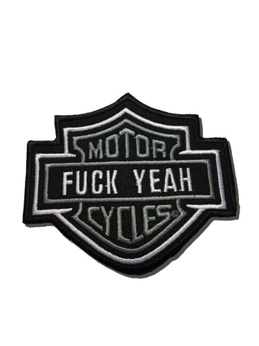 F Yeah Motorcycles Patch
