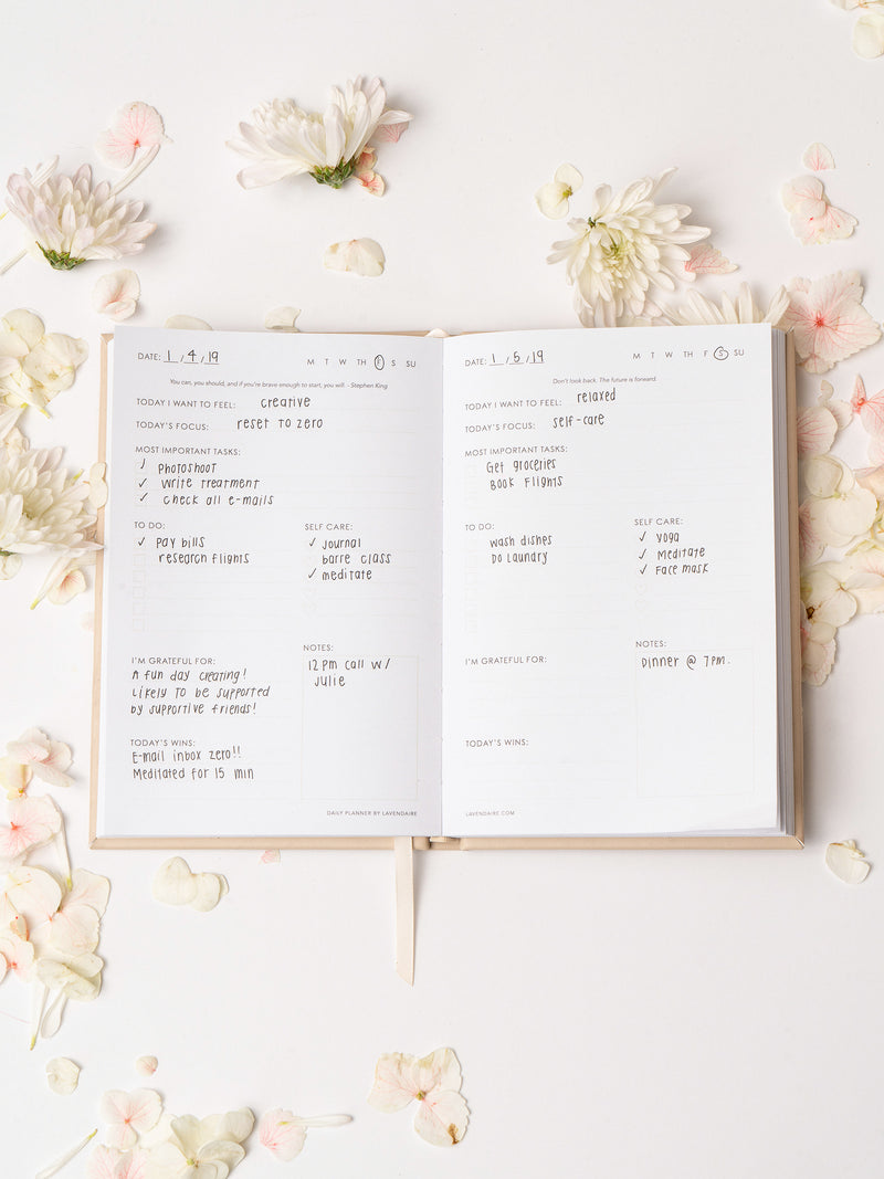 Daily Planner by Lavendaire