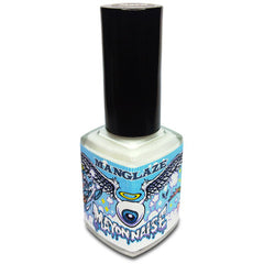 Mayonnaise white matte nail polish bottle