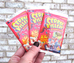Cereal Killers Sticker Cards - 8-Sticker Pack - Series 2