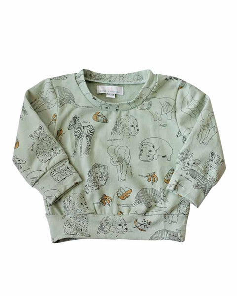 Animal Lovers Sweater (Size: 9-12m)