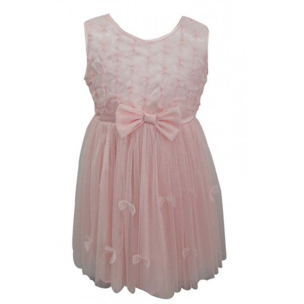 Infant Peach Bow Dress (24m)