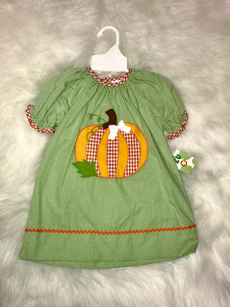 Pumpkin Dress (Sizes 3T & 4T)