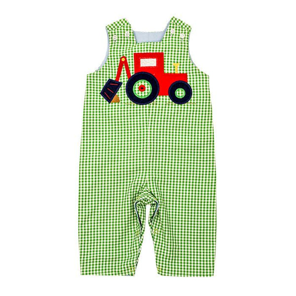 The Backhoe Collection Boys Reversible John John Long (3T)