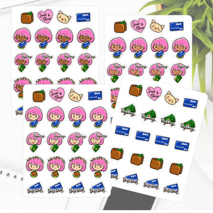 Pay Day Bill Due No Spend Sapi Planner Sticker
