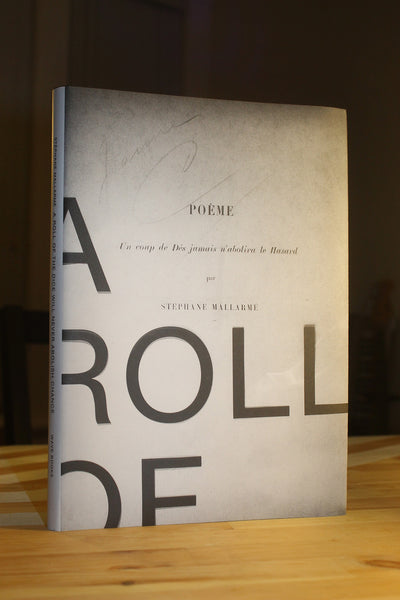 A Roll of the Dice by Stéphane Mallarmé translated by Jeff Clark and Robert Bononno