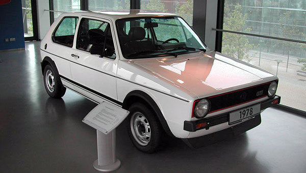 VW Rabbit GTi Side Stripes, from NOS