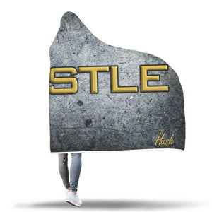 HUSTLE Slab Hooded Blanket