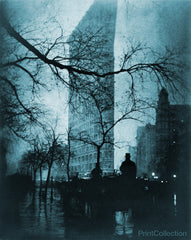 Flatiron Building at Night by Steichen