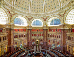 Main Reading Room Library of Congress Washington DC
