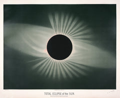 Total eclipse of the sun. Observed July 29, 1878, at Creston, Wyoming Territory