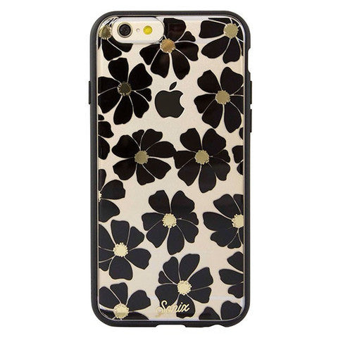 Sonix Clear Coat for iPhone 6/6S - Wildflower Black