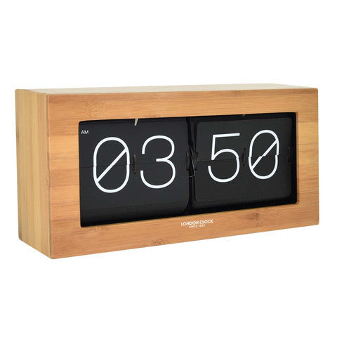Alarm Clock - Stor Digital Flip 36cm - London Clock Company