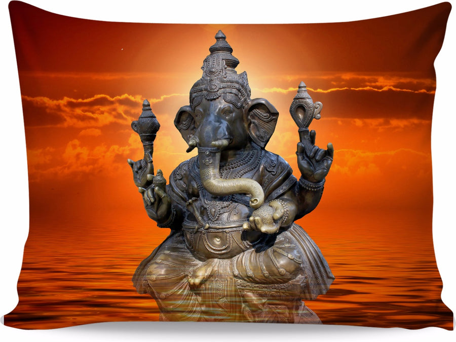 Elephant Ganesha Pillowcase