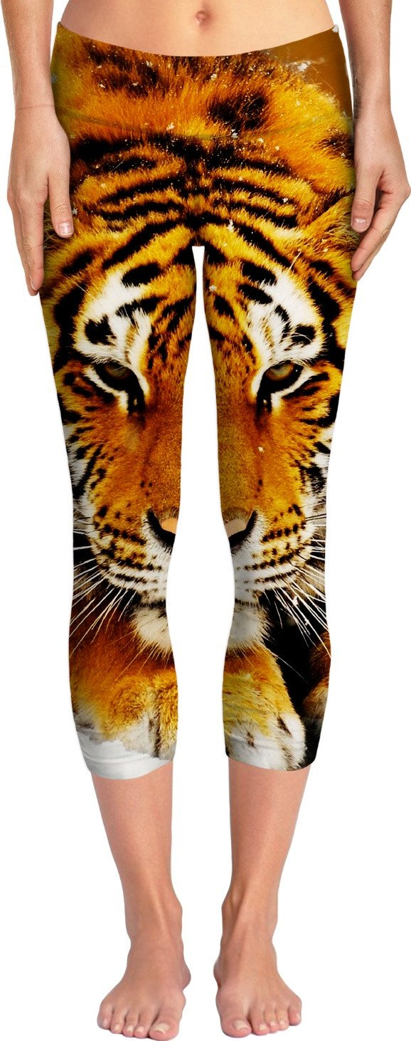 Siberian Tiger Yoga Pants