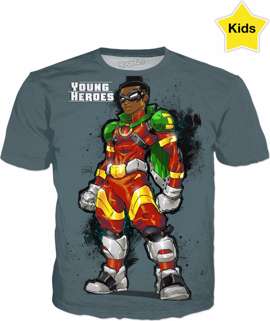 Young Heroes: Unlimited (Limited Edition Kids Shirts)- Icon