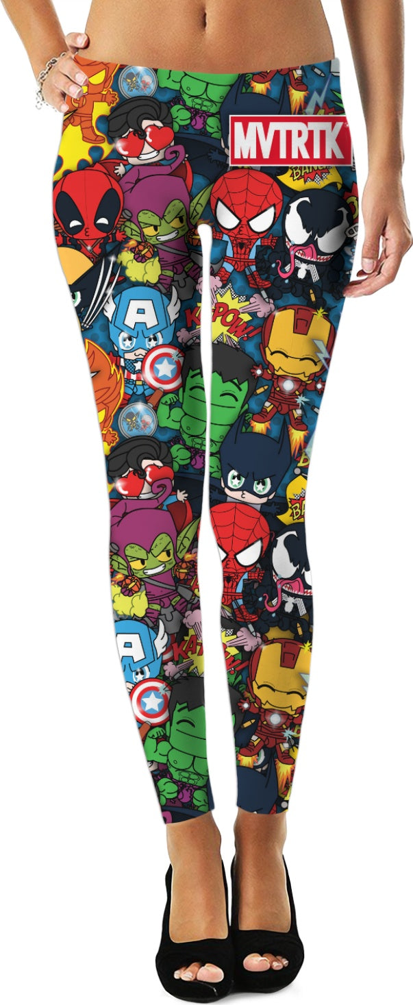 MVTRTK SUPER HEROES Leggings
