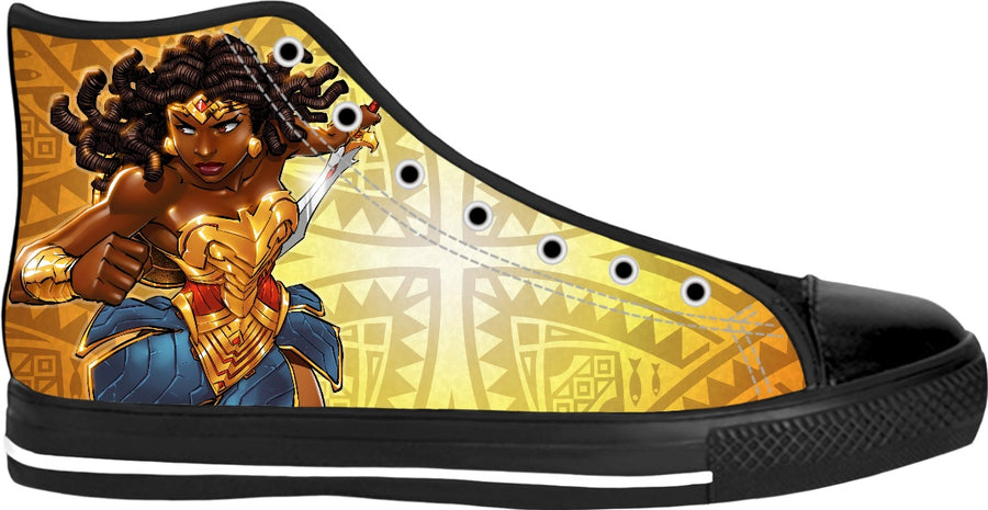Nubia-Wonder Woman of the Orishas-Shoe