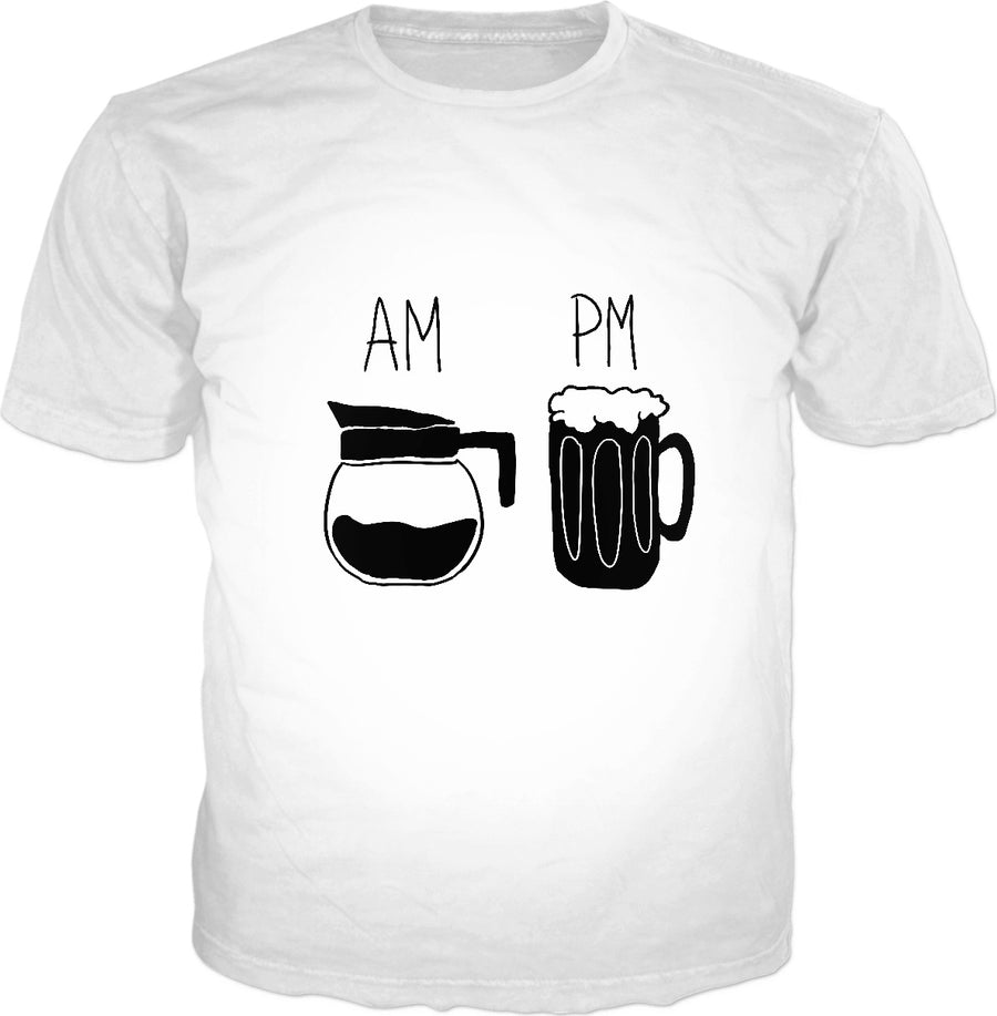 AM PM Beer Classic T-Shirt